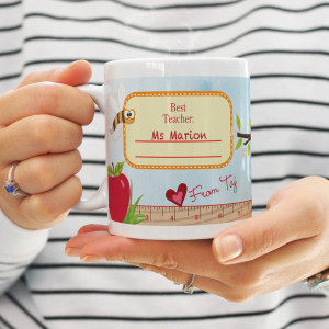 School Teachers Gift Mug Best Teachers Teach From The Heart