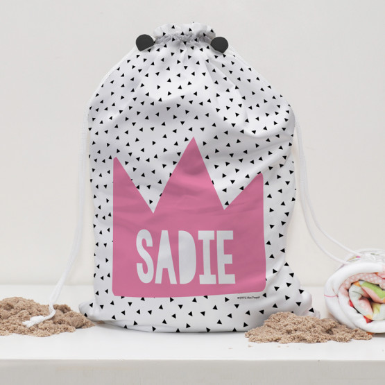 Personalised-Kids-Water-Resistant-Drawstring-Swim-Bag-Princess