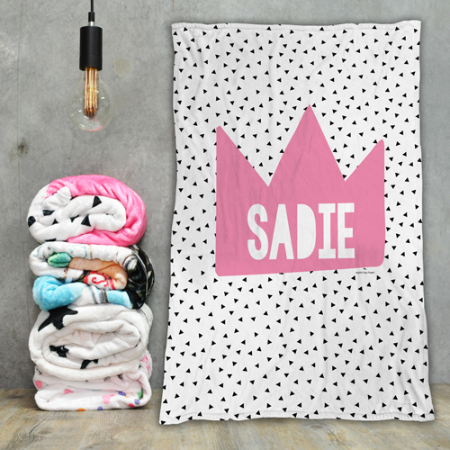 Personalised Fleece Kids Blanket Baby Blankets With A Custom Name Baby Gifts Keepsakes Bedding Blankets Towels Big Middle Little Brother