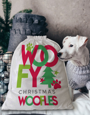 Personalised Pet Santa Sack