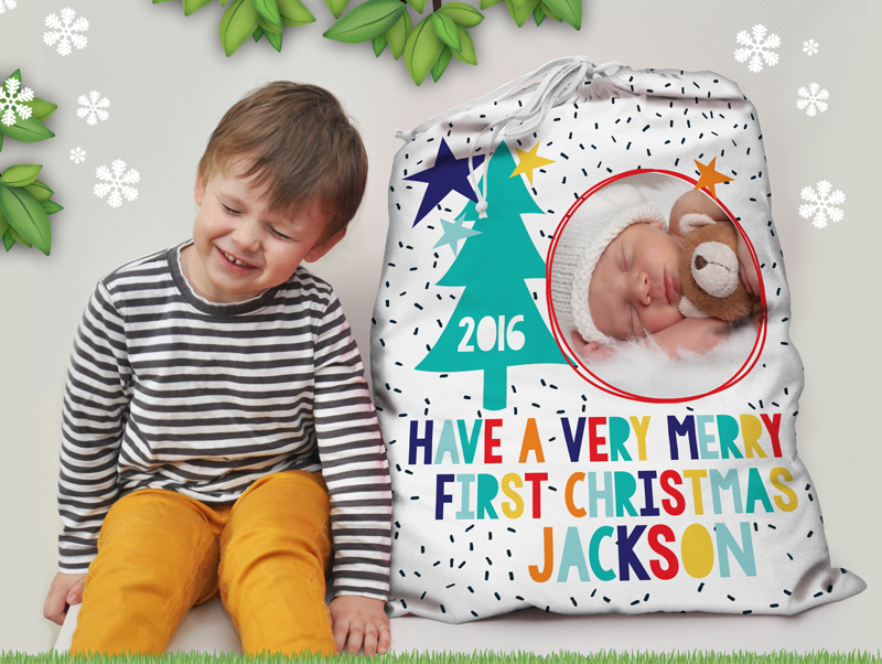 Personalised-Kids-My-First-CHristmas-Modern-Santa-Sack