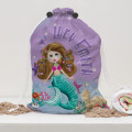 Mermaid Kids Swim Bag Personalised With name