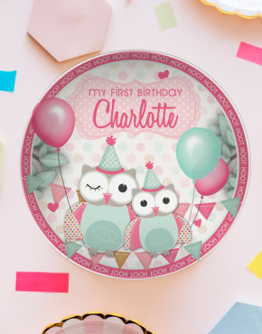 kids plate, kids gift, name on plate, kids party plate, my first birthday gift, birthday gift idea kids, My first birthday plate, birthday keepsake, personalised kids plate, kids plastic plate, drop proof kids plate, BPA Free Plate, My 1st Birthday Plate