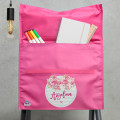school chair bag personalised custom name waterproof library bag