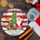Santa Cookie Christmas Eve Plate