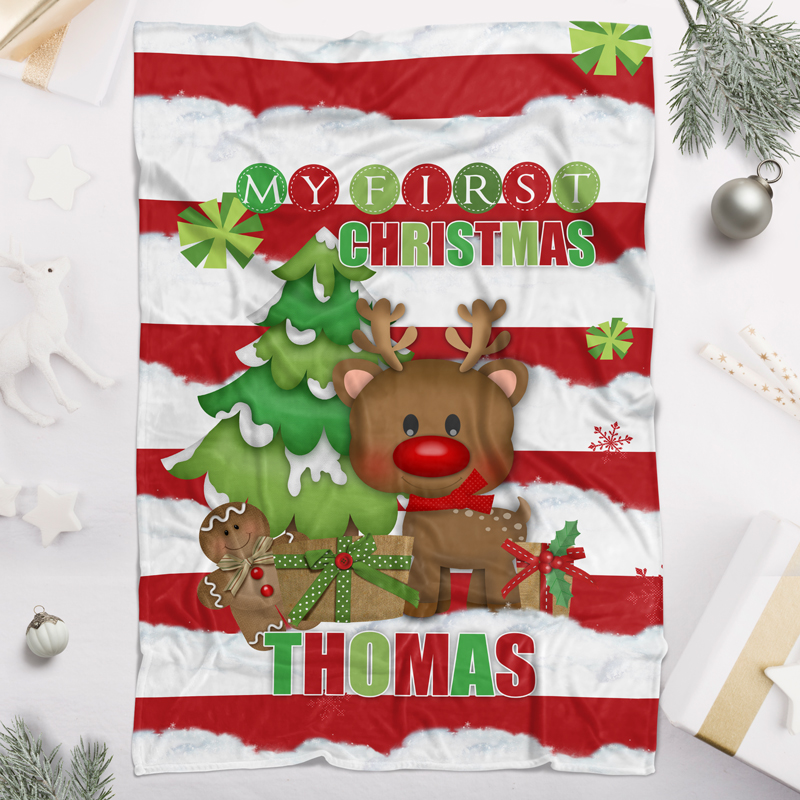 Christmas Blankets.Personalised Christmas Blankets Christmas Stuff For The Really Mini Peeps