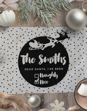 Personalised-Christmas-Linen-Placemats