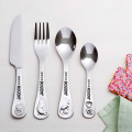 Stainless Steel Kids Cutlery 4 Piece Set